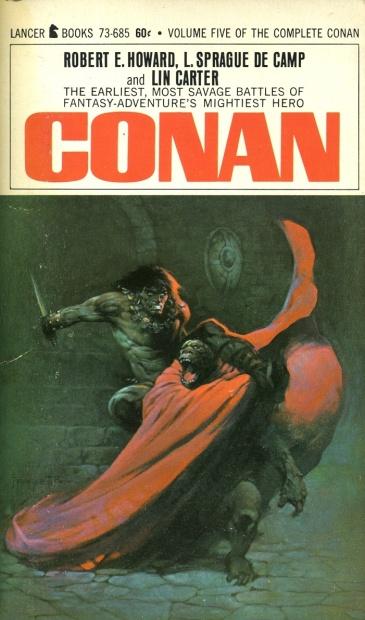 Conan Lancer Frazetta