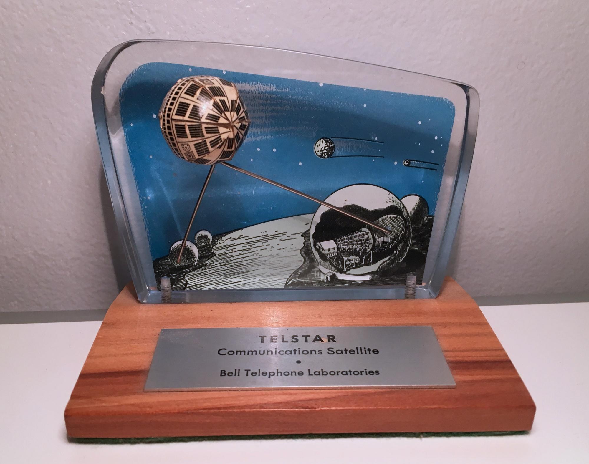 Telstar commemorative plaque