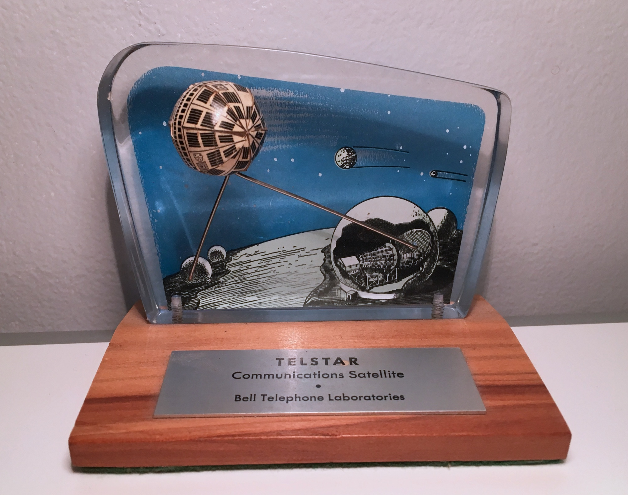 Telstar commemorative plaque