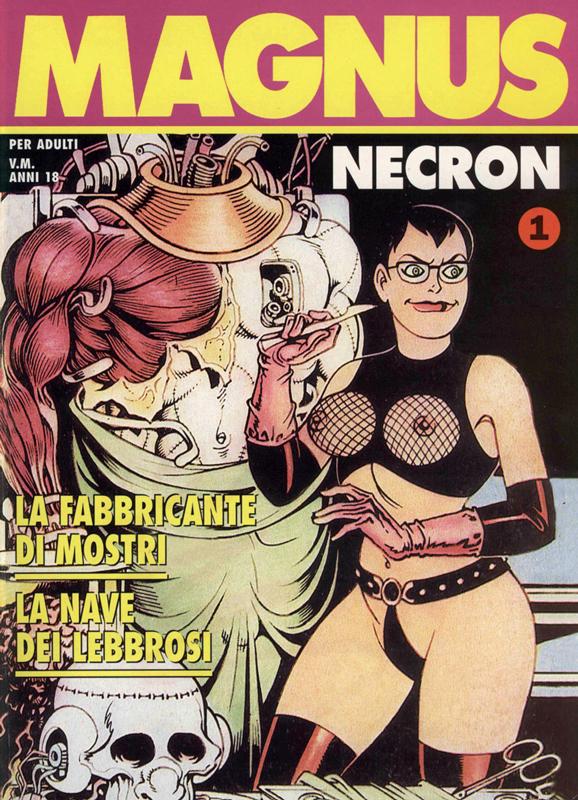 Italian comic book robot sex