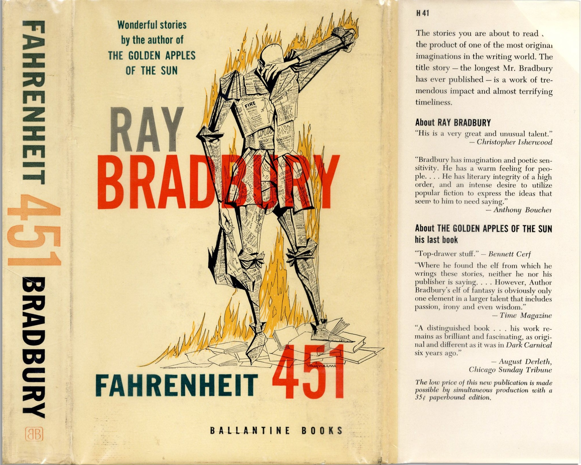 an analysis of ray bradburys fahrenheit 451 Ray bradbury's internationally acclaimed novel fahrenheit 451 is a masterwork  of  genre: fiction + literature genres, fiction + literature themes sub-genre: .