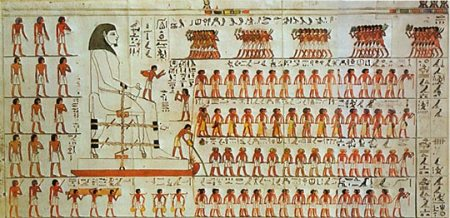 we are the mutants wall painting from the tomb of Djehutihotep chariots of the gods ancient aliens
