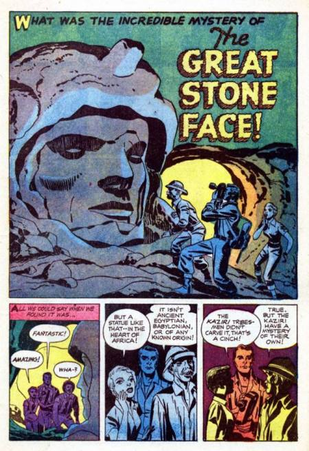 we are the mutants great stone face jack kirby 1957 ancient aliens