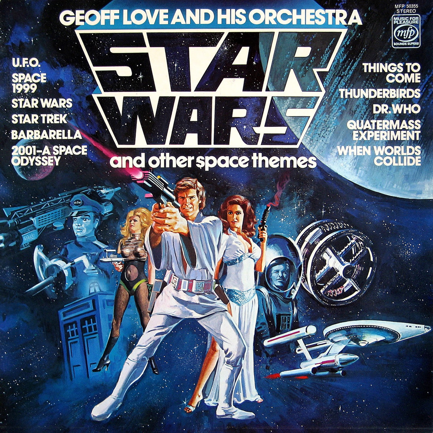 Close Encounters of the Third Kind and Other Disco Galactic Themes