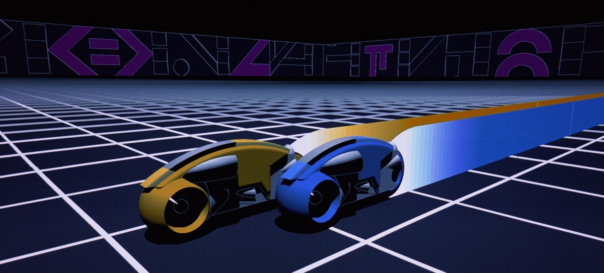 Vanishing Point: How the Light Grid Defined 1980s Futurism