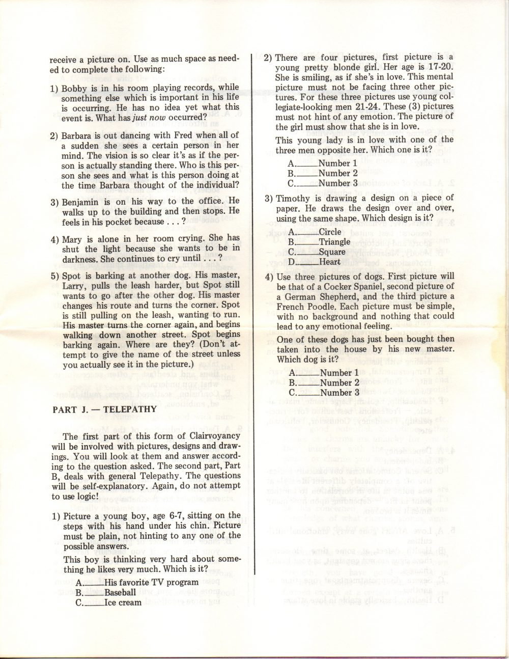 Ten do it yourself psychic occult tests 1972 object name ten do it yourself psychic occult tests maker and year occultima ltdrobert wasserman 1972 object type booklet solutioingenieria Gallery