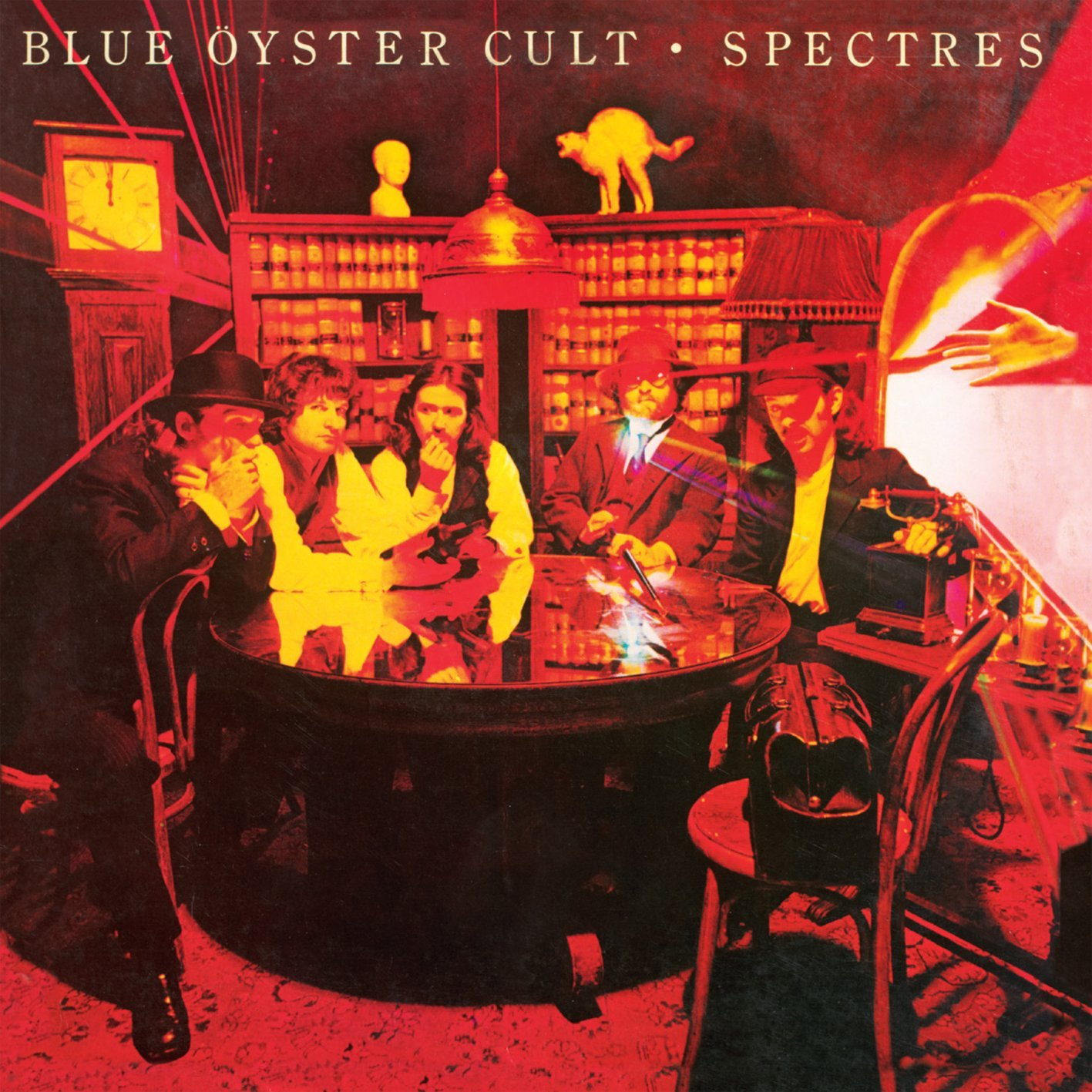 A final outrage the album art of blue yster cult the symbol rich cover of agents of fortune was one of only two album covers painted by artist lynn curlee the other being black sabbaths 1980 heaven and buycottarizona Choice Image