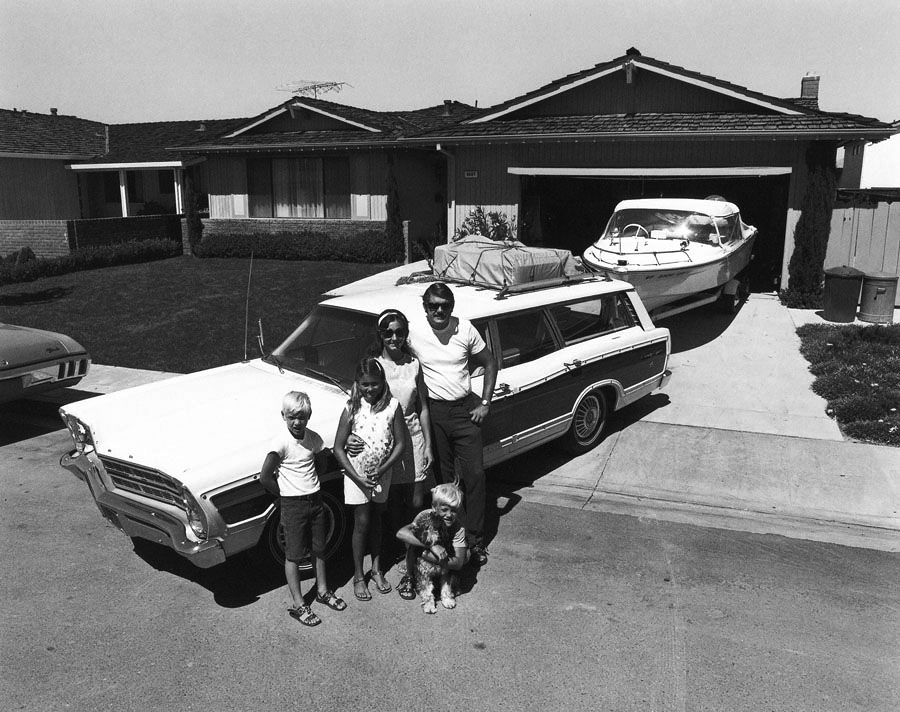 selections from suburbia by bill owens 1973
