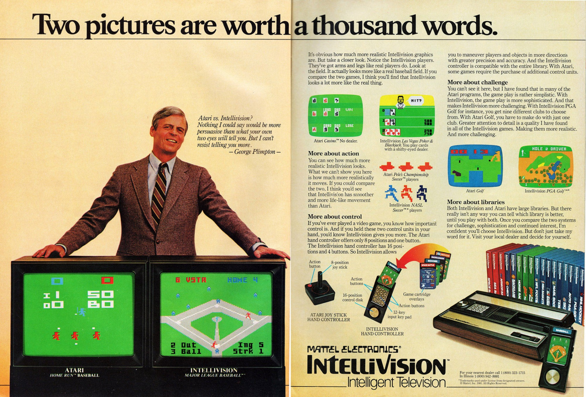 intellivision plimpton 1981
