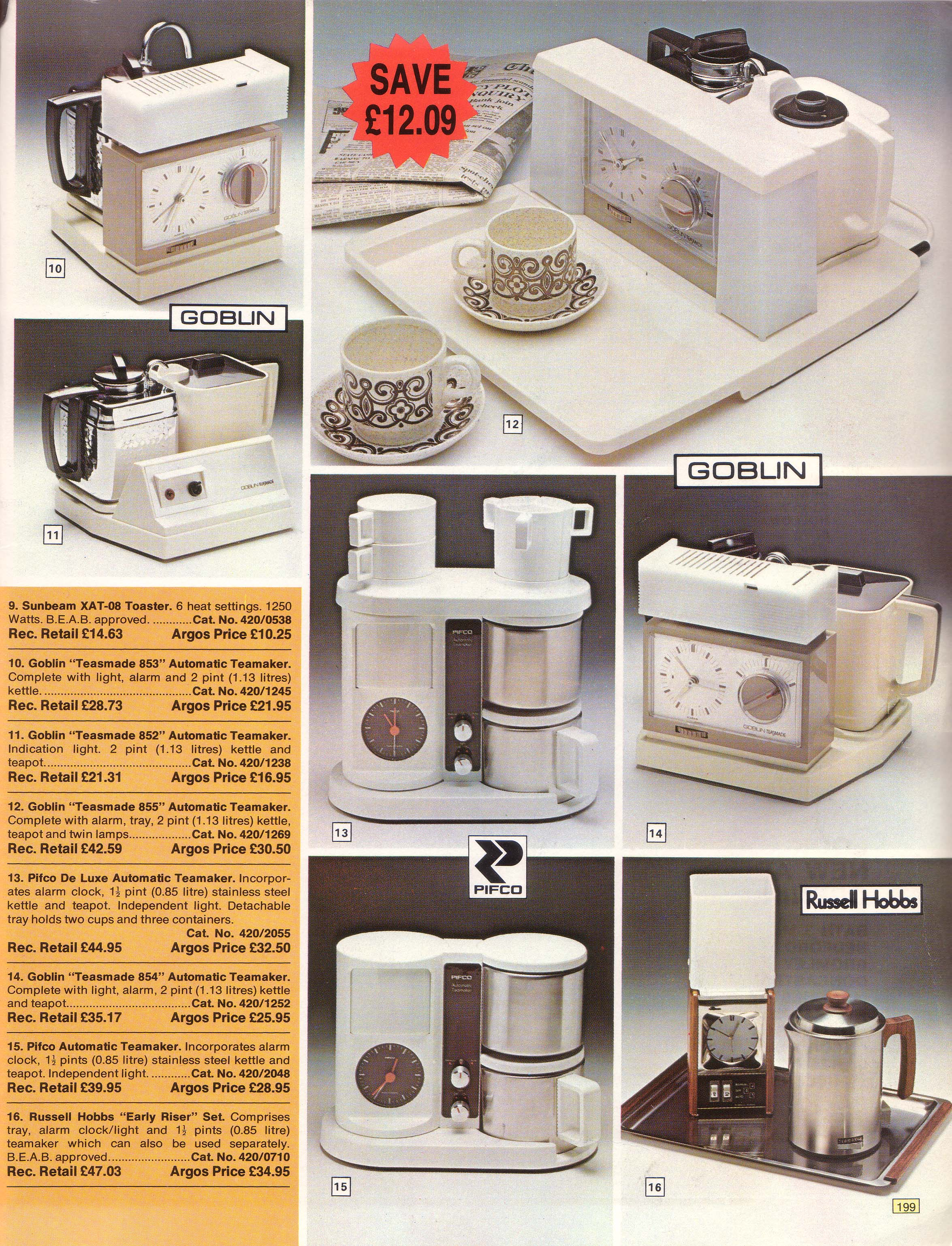 Argos Catalogue Kettle Pages 19761985