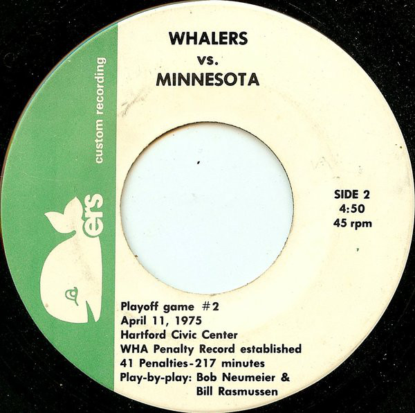 4ca80c857 Maker and Year: Originally Jacques Ysaÿe & His Orchestra, 1967; rereleased  circa 1976 as a single by the New England Whalers Object Type: Song/45 rpm  single