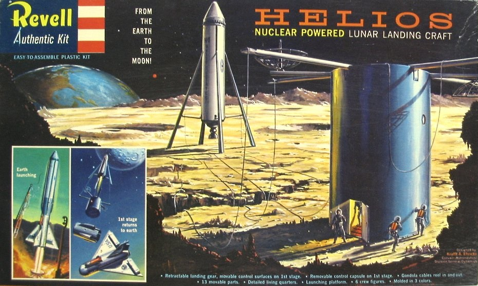 Revell 'Space Age' Model Kits, 1957 – 1959