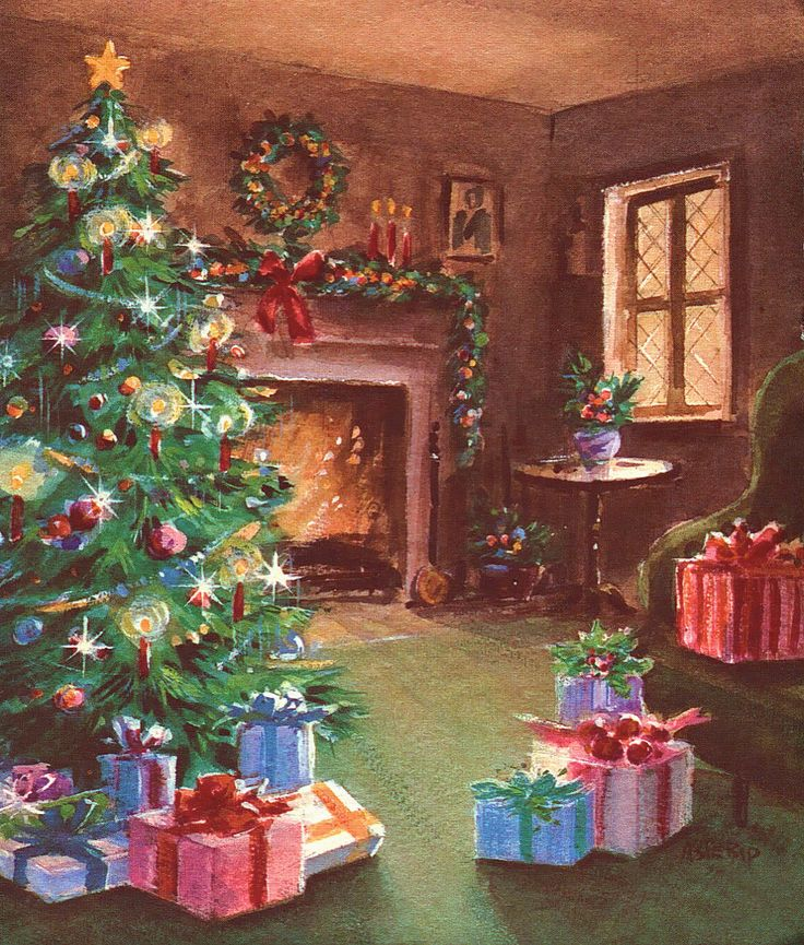 Christmas greeting cards 1950 1980 m4hsunfo
