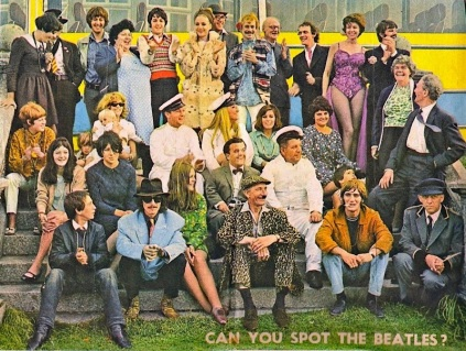 magical mystery tour can you spot the beatles