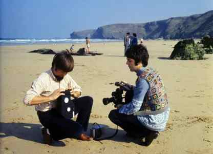 magical mystery tour paul camera