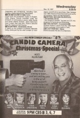 """Allen Funt's Candid Camera formula had been co-opted by NBC and ABC in the '80s with their respective """"blooper"""" shows."""