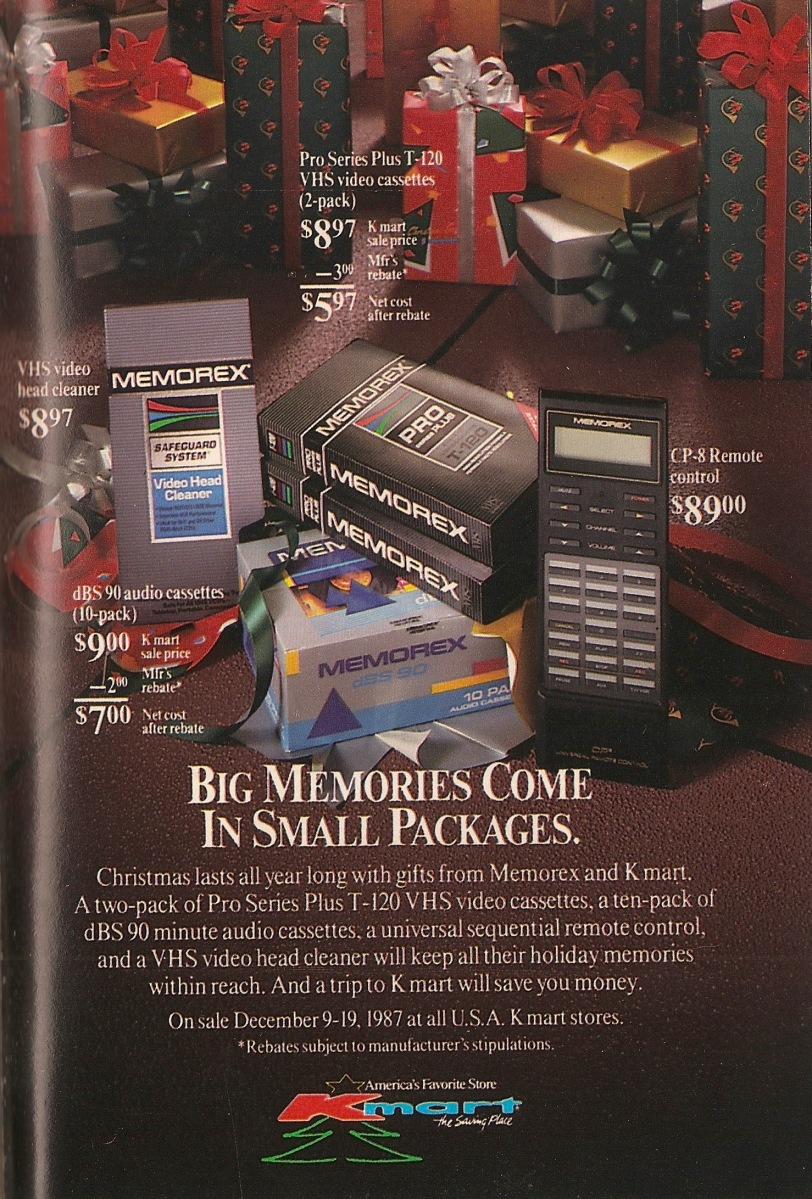 Tv Guide Kmart Vcr 1987