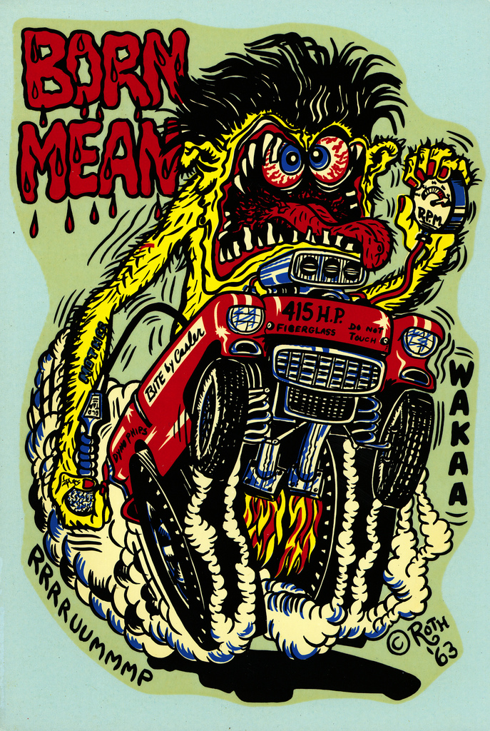 ed �big daddy� roth�s monster car illustrations