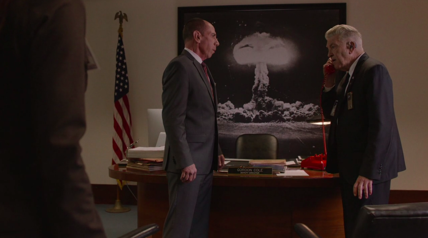 twin peaks the return episode 3 gordon cole office