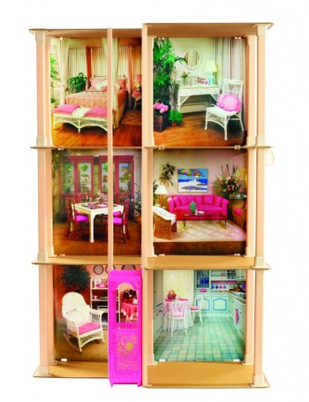 barbie dream house vertical 1983