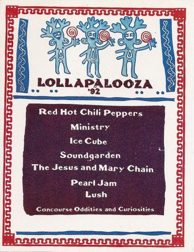 lollapalooza 1992