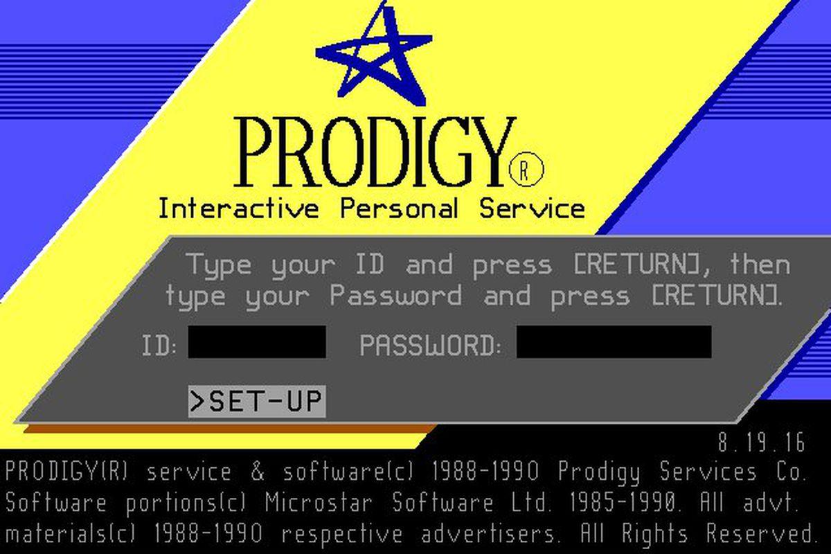 prodigy front page circa 1990