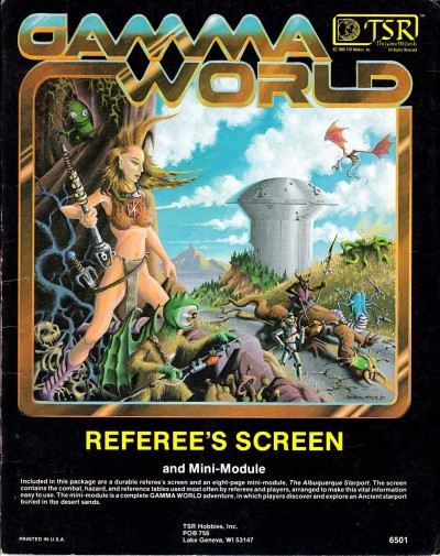 gamma world referees screen 1980