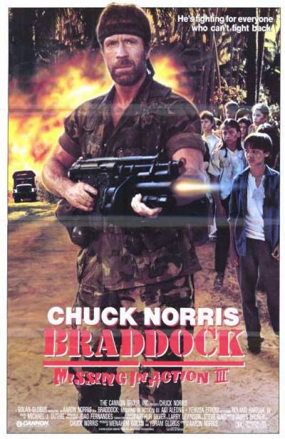 braddock missing in action 3 poster 1988