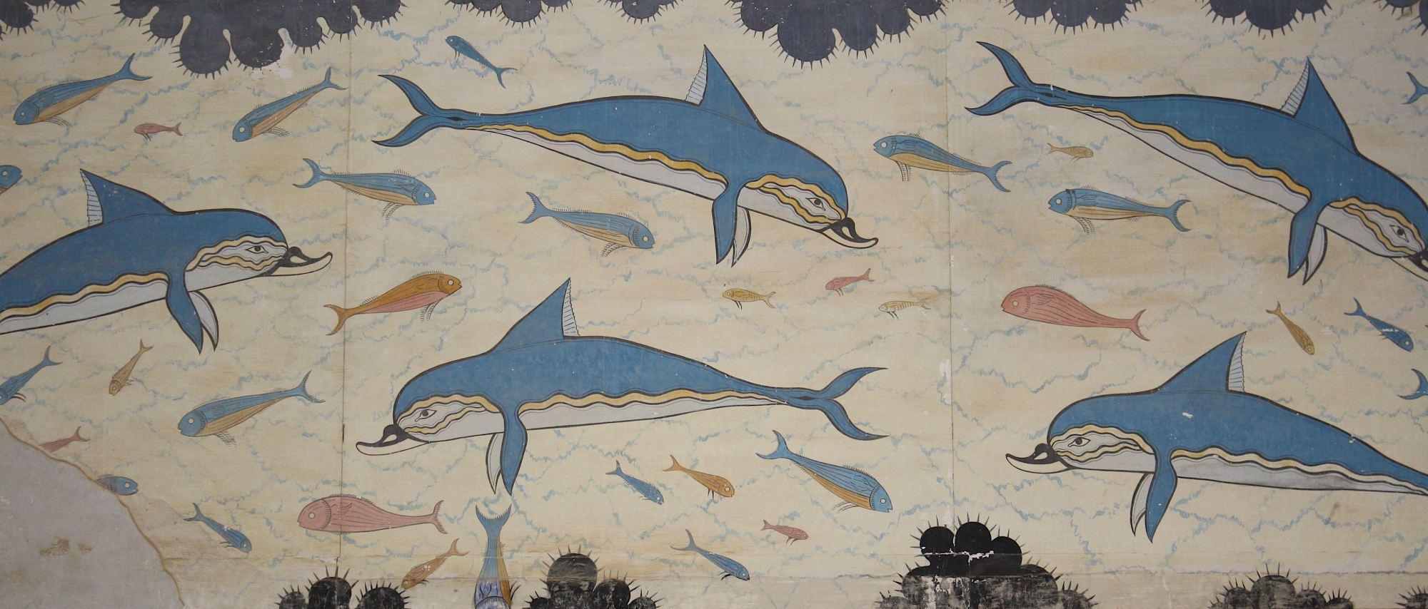 knossos dolphins