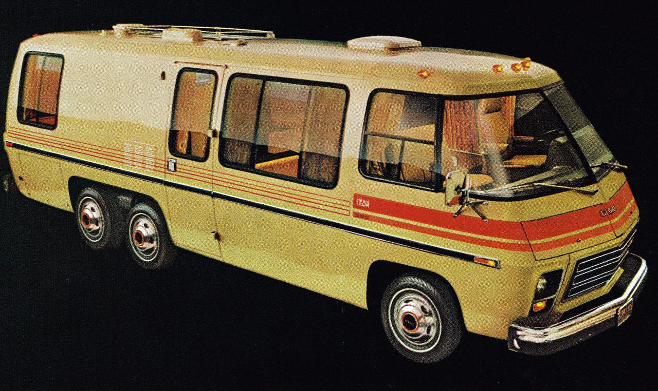 Living Pod: The GMC Motorhome, 1973 – 1978