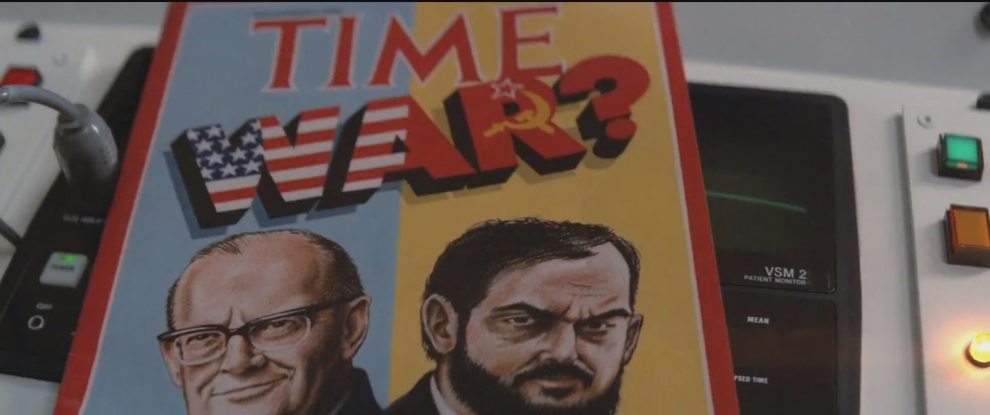 2010 clarke and kubrick on time