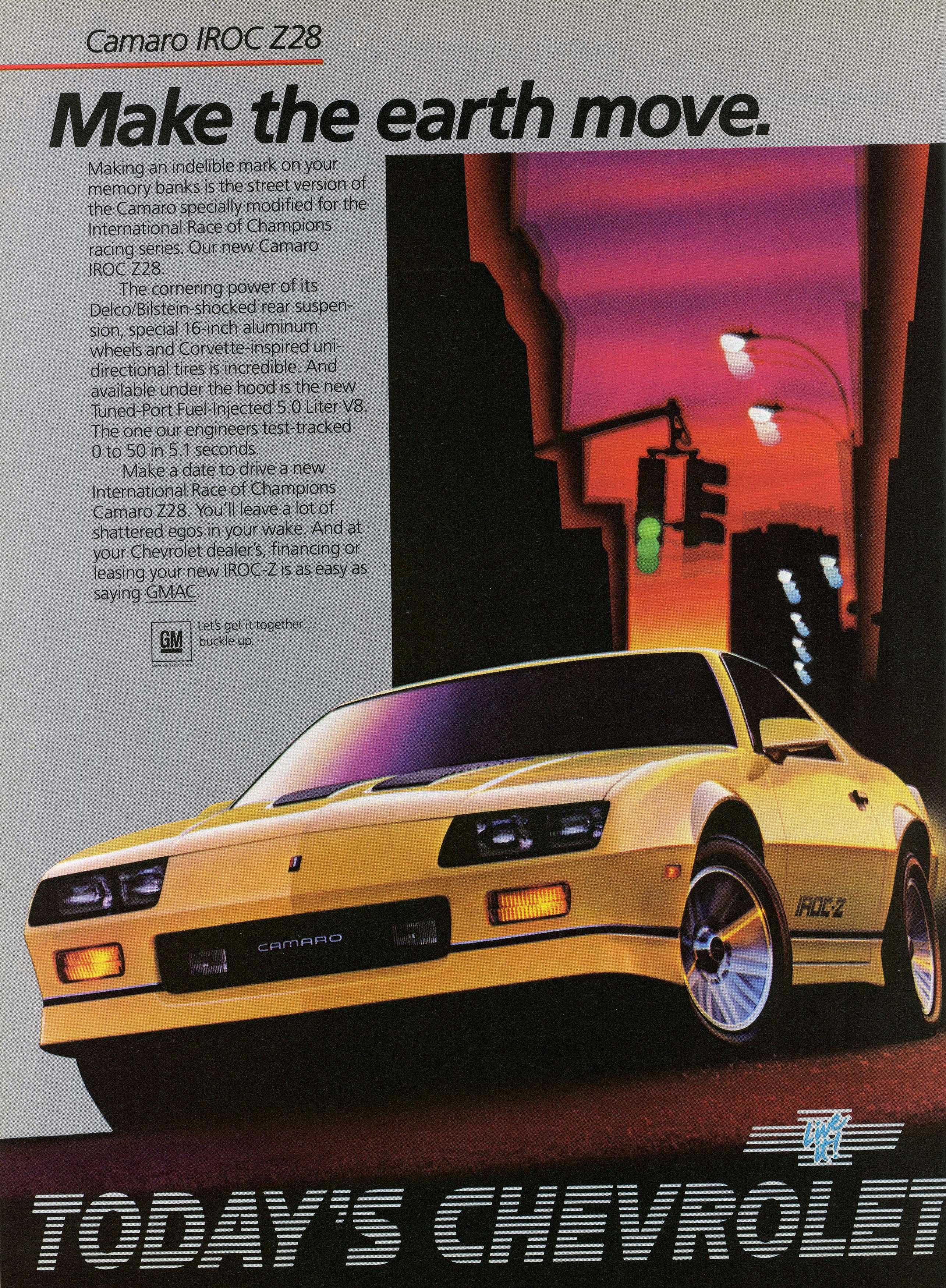 Heartbeat of America: The Chevy Camaro IROC-Z, 1985 – 1990