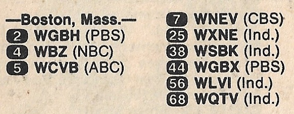 boston tv guide channels 1983