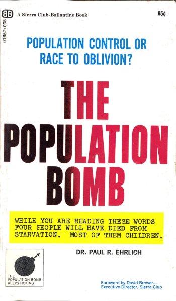 the population bomb 1968